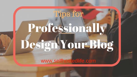 professionally Blog design