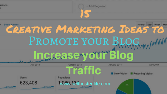 Creative Marketing Ideas for blogs
