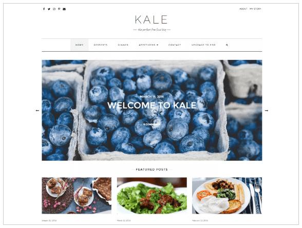 WordPress Themes kale