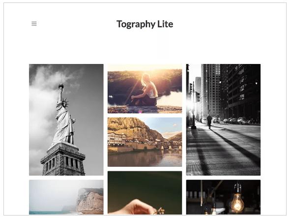 WordPress Themes tography lite