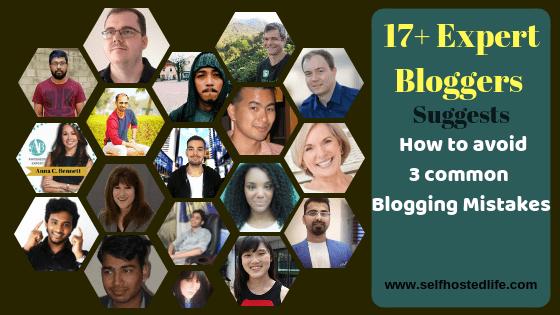 Common blogging beginner makes