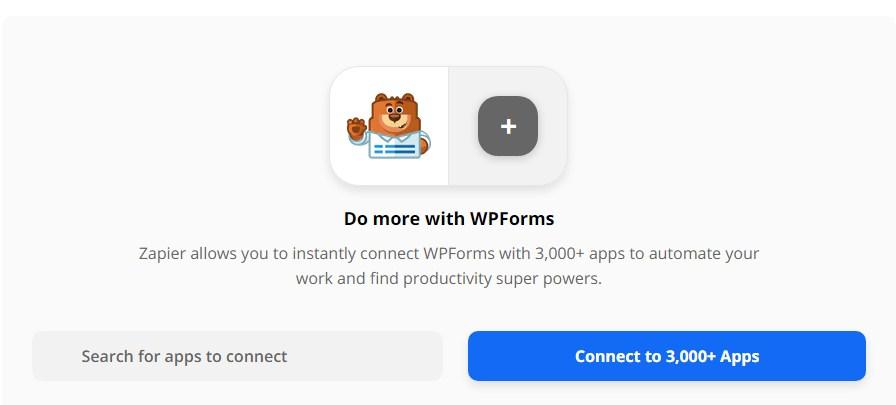 WPForms Zapier integration