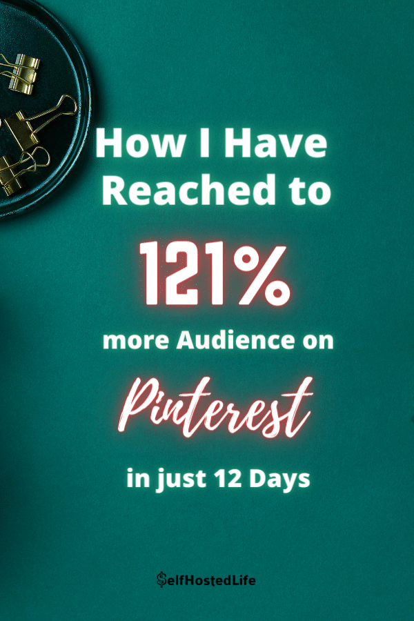 Tailwind Results for Pinterest profile
